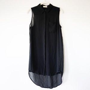 NORDSTOM / Lush Brand | Sleeveless Button Up Top